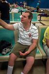 participant at ten pin bowling